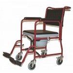 Кресло-коляска инвалидная с туалетным устройством, складная Titan LY-800-690