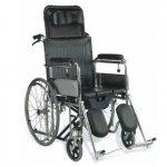 Кресло коляска складная с высокой спинкой LY-250-610