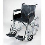 Узкая инвалидная кресло коляска с шириной сиденья 45 см 1618С0102