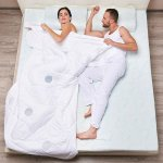 Стеганое одеяло с терморегулирующими вставками TRELAX Thermo Control (двуспальное евро, 200х220 см)