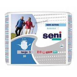 Трусы впитывающие для взрослых Seni Active размер L 10 шт