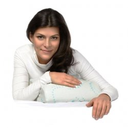 Ортопедическая подушка с эффектом памяти под голову для путешествий П07 RESPECTA COMPACT