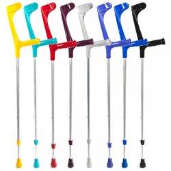 Локтевой костыль Ergo-Grip (Цвет ручки: Серый, Цвет трубы:Серый) (Б/У)