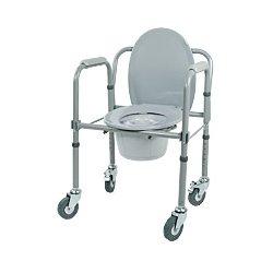Кресло - туалет на колесах 10581Cа