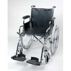 Инвалидная кресло коляска со съемными подлокотниками и подножками Barry B3 (1618C0303S)