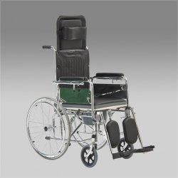 Кресло коляска для инвалидов FS619GC с санитарным оснащением