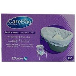 Одноразовые гигиенические пакеты для ведер туалетов и подкладных суден Carebag Commode Liner