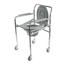 Кресло - туалет на колесах WC Mobail