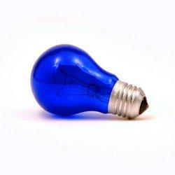 Лампа накаливания, вольфрамовая (60 Вт)