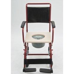 Инвалидное кресло-коляска с санитарным устройством FS 692-45