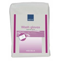 Рукавицы для мытья Wash gloves Airlaid/PE (50 шт) ABENA