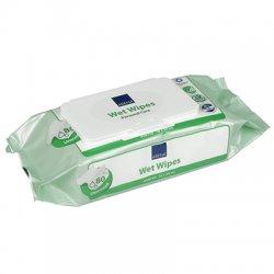 Салфетки влажные очищающие 18 х 20 (80 шт) ABENA