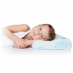 Детская ортопедическая подушка с 3 лет с эффектом памяти TRELAX RESPECTA BABY П35