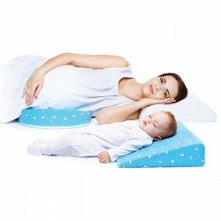Ортопедическая подушка-трансформер для беременных и младенцев 2-в-1 TRELAX CLIN П31
