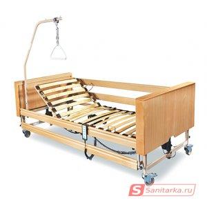 Медицинская кровать функциональная 4-х секционная Dali II (Германия) с матрацем