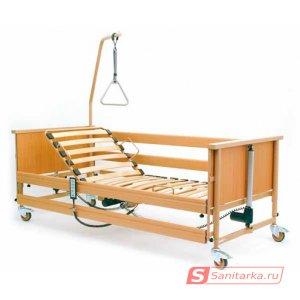 Медицинская кровать функциональная 4-х секционная Economic II (Германия) с матрацем