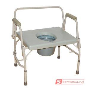 Кресло-туалет для полных людей HMP-7012