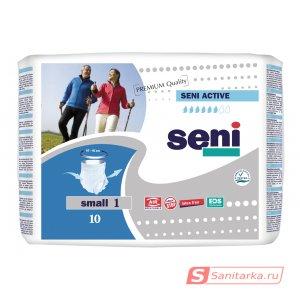 Трусы впитывающие для взрослых Seni Active размер S 10 шт