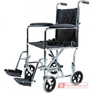 Кресло-каталка инвалидная складная Titan LY-800-808-A (ширина сиденья 45см)