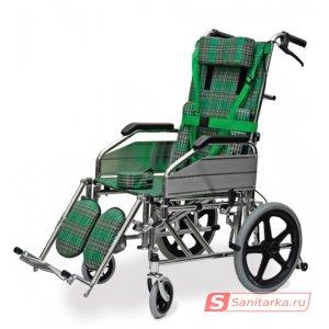Кресло-каталка инвалидная с высокой спинкой Titan LY-800-957