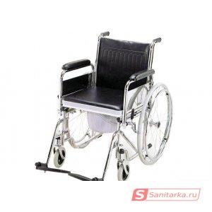 Кресло коляска с санитарным оснащением LY-250-681