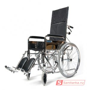 Кресло коляска инвалидная с откидной спинкой LY-250-008-L