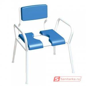 Кресло-туалет для инвалидов пожилых и полных людей AKKORD-MAXI XXL LY-2002XXL