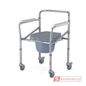 Кресло-туалет для инвалидов со съемным санитарным устройством серии Akkord LY-2003