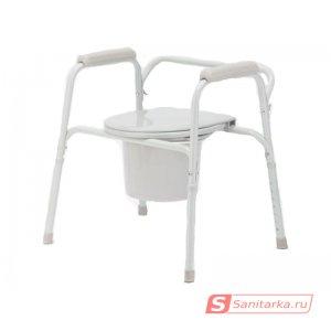 Кресло-туалет для инвалидов со съемным санитарным устройством Akkord-Mini LY-2011