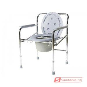 Кресло-туалет с съемным санитарным устройством для инвалидов Akkord-Midi LY-2012