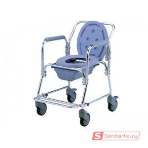 Кресло-туалет для инвалидов со съемным санитарным устройством серии Akkord LY-2003M