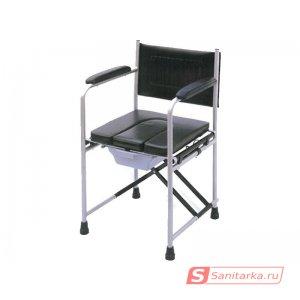 Кресло-туалет для инвалидов с съемным санитарным устройством LY-2815