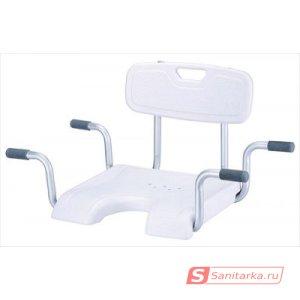 Сиденье со спинкой для ванны KAMILLE LY-200-5016W