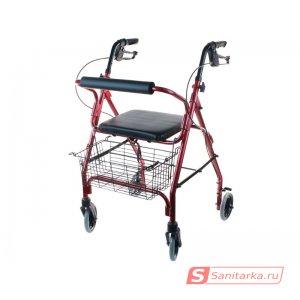 Ходунки-роляторы на четырех колесах для пожилых и инвалидов Optimal-Kappa LY-517