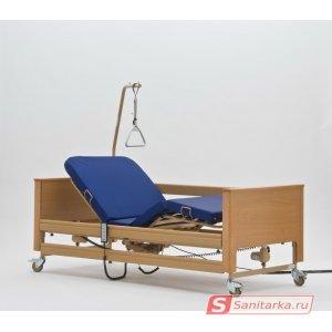 Медицинская кровать функциональная 4-х секционная Arminia II (Германия) с матрацем