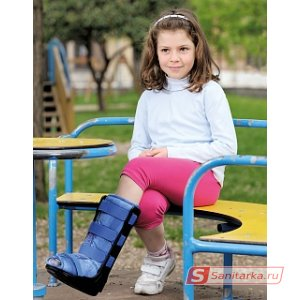 Детский голеностопный ортез medi Walker boot