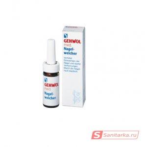 Смягчающая жидкость для ежедневного ухода за ногтями Gehwol Med Nagel-Weiche