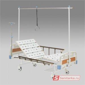 Функциональная механическая кровать ARMED с принадлежностями RS104-H (С рамой балканского)