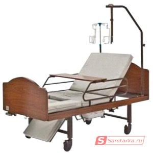 Механическая кровать с санитарным оснащением DHC FF-3