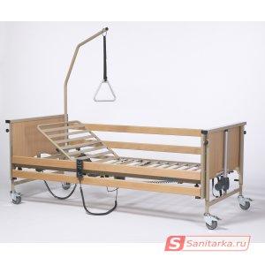 Функциональная электрическая кровать 4-х секционная Vermeiren LUNA Basic