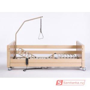 Электрическая функциональная кровать  4-х секционная LUNA X-low