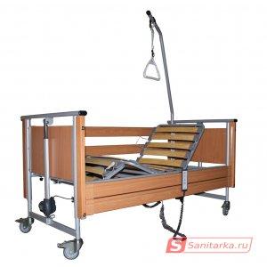 Медицинская 4-х секционная кровать с электроприводом подростковая Elbur PB 326
