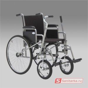 Кресло коляска для инвалидов ARMED Н 005 с рычажным управлением