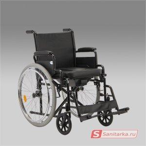 Кресло коляска для инвалидов ARMED Н 011А с санитарным оснащением