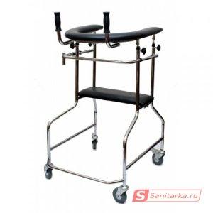Ортопедические опоры-ходунки, на 4-х колесах LK 3003 W