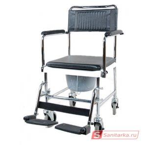Кресло - каталка с санитарным оснащением 5019W2