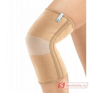 Бандаж на коленный сустав со спиральными ребрами жесткости Orlett MKN-103(M)