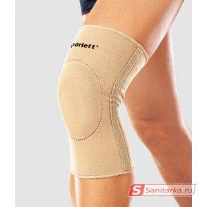 Бандаж Orlett на коленный сустав, эластичный, со спиральными ребрами жесткости (EKN-212)