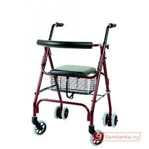 Ходунки на колесах с корзиной RollPush