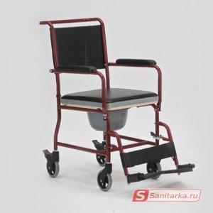 Инвалидное кресло - коляска с санитарным оснащением LK 8002